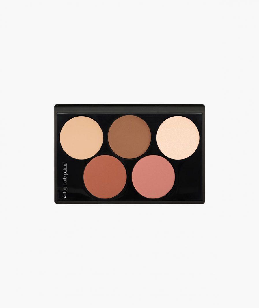 highlight & blush contour palette