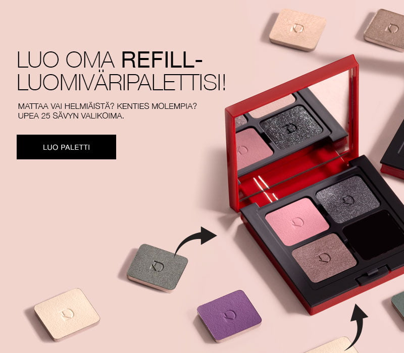 Luo oma REFILL- luomiväripalettisi!